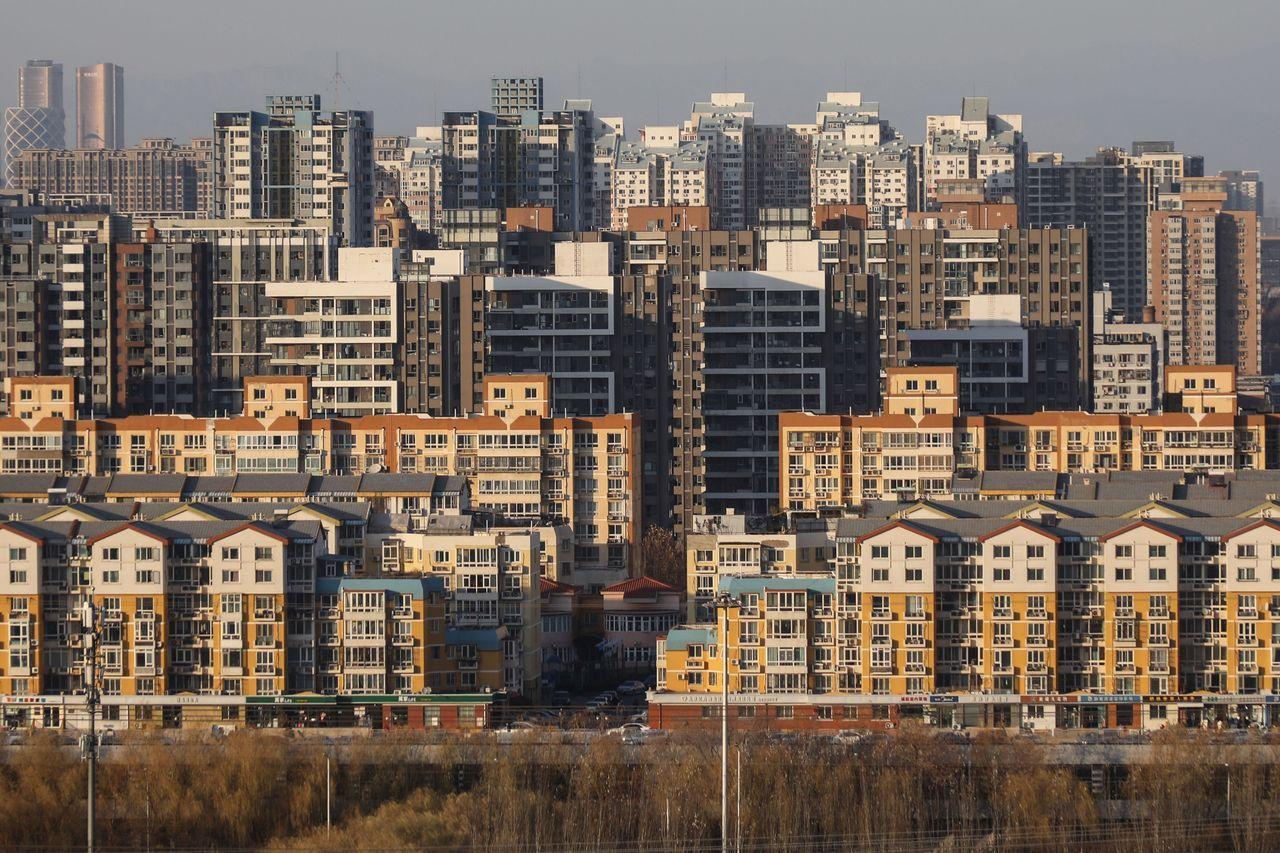 北京的建筑群。部分得益于政府支持,中国物业管理公司增长迅猛。