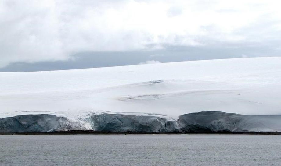 Sea ice around Antarctica hits record low, preliminary U.S. data show