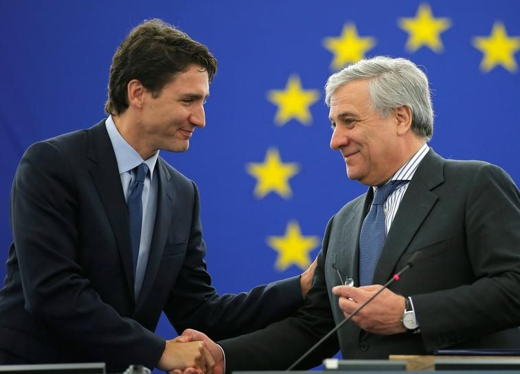 Canada's Trudeau tells EU: the world needs you