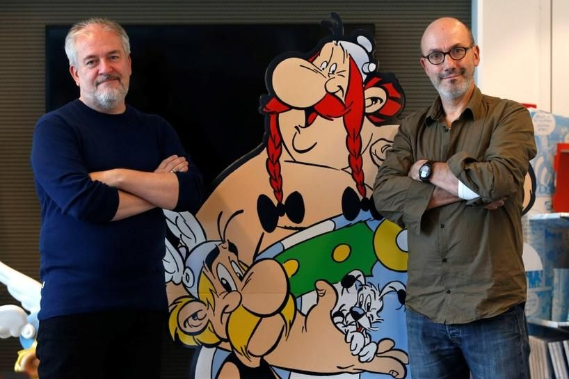 Assange inspires new character in latest Asterix comic