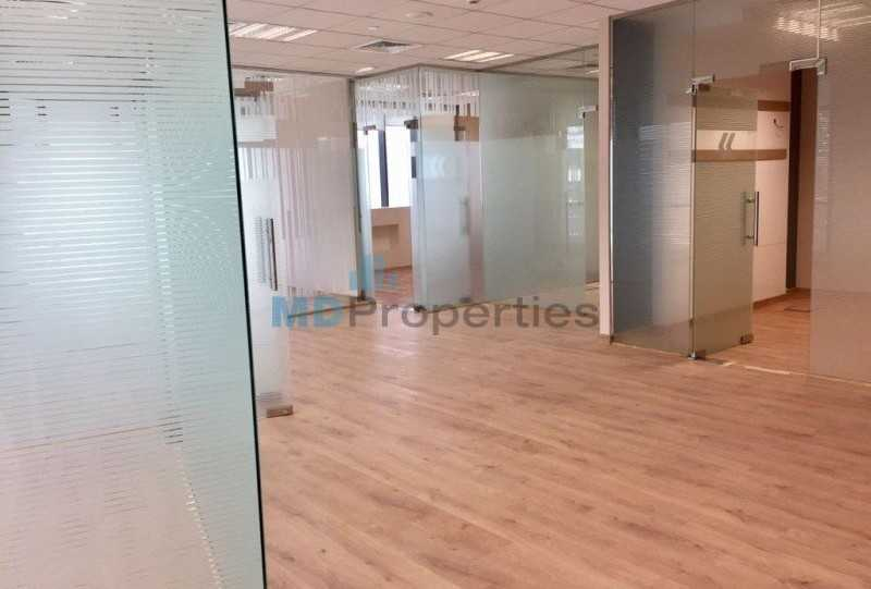 Fitted Office With Partition  Burj Khalifa And Lake View