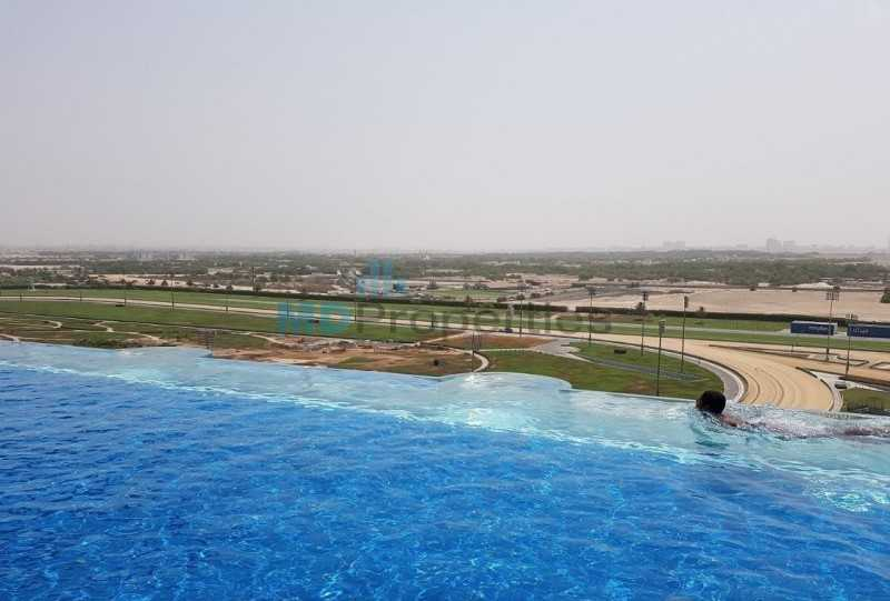 Amazing Investment Plot At Meydan Racecourse Stable View