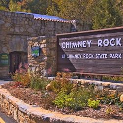 Photo of Chimney Rock State Park Sign