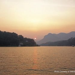 Photo of Mountain Sunset on Lake Lure