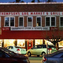 A Photo of the Iconic Saluda Thompson's Store & Ward's Grill