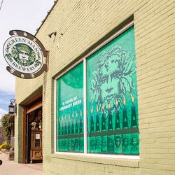 Green Man Brewery's Dirty Jack's location storefront