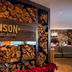 Photo of the Entrance to the Edison Restaurant