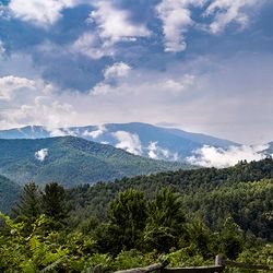Photo of Mountains in the Clouds in Waynesville