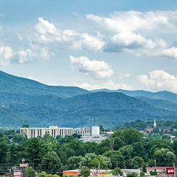 Photo of Waynesville Surrounded by Mountains