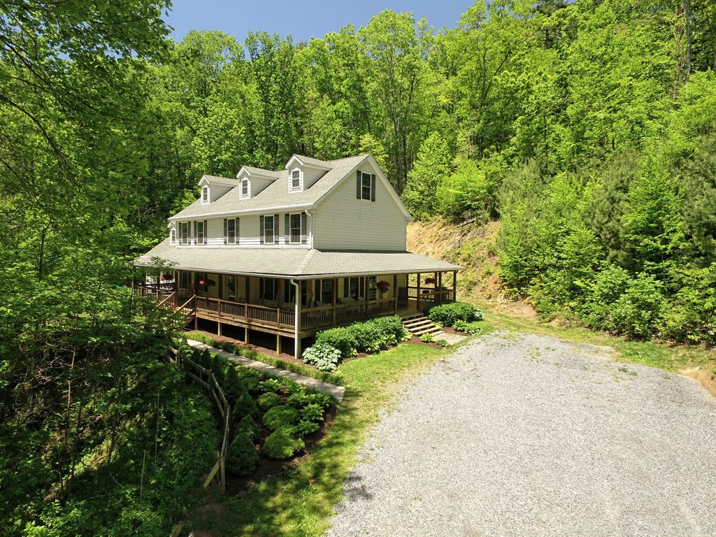 1182 Joe Carver Road in Waynesville, North Carolina 28785 - MLS# 3292894