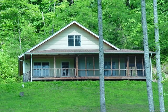1300 Indian Camp Creek Road in Hot Springs, North Carolina 28743 - MLS# 3281218