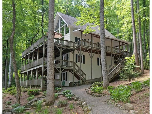 575 Twin Brook Drive in Waynesville, North Carolina 28785 - MLS# 3294742
