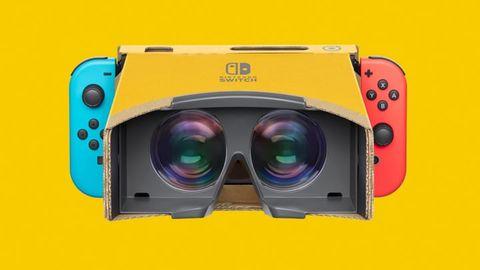 用 Switch 怎麼玩 VR 遊戲?任天堂靠這幾個紙盒實現了