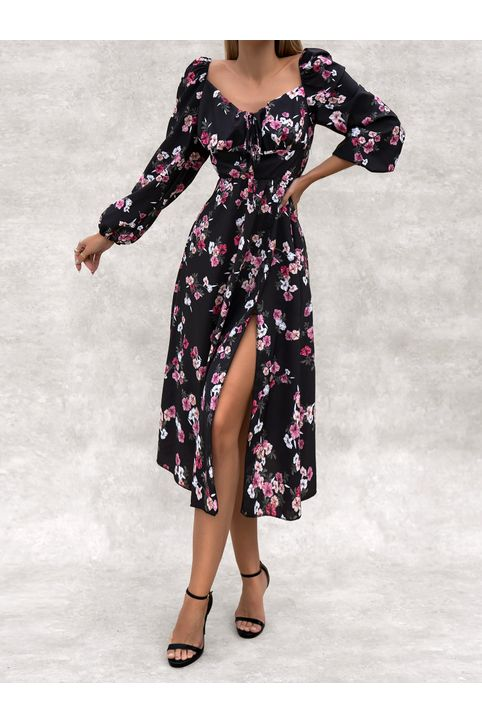 BRIVES FLORAL DRESS