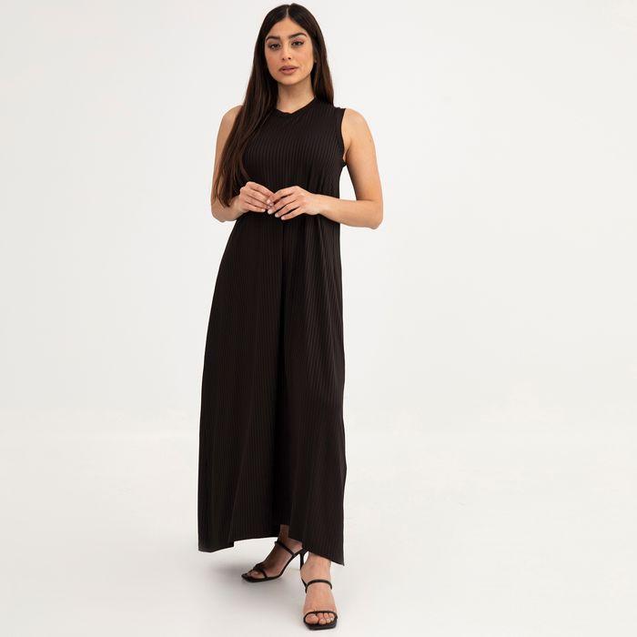 Αμάνικο φόρεμα ριπ