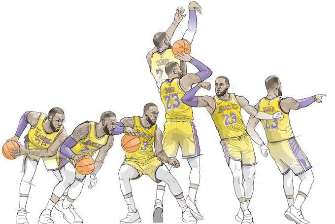 超進化!數據顯示LeBron James竟然愈來愈像Curry?