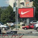 Тешка сообраќајка на булевар Србија, неколку лица повредени (ФОТО)