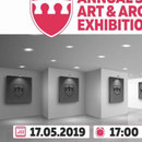 "Во универзитетскиот кампус на МБУ, отворена изложбата ""Уметност и архитектура"""