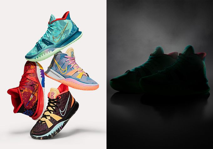 Nike Kyrie 7 官方正式發布 首發多款出色配色為球鞋帶來無限創意