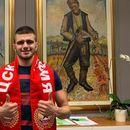 Защитник преподписа с ЦСКА за още 3 години