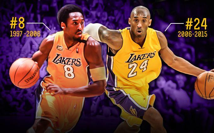 8號Kobe還是24號Kobe?決定不了便同時退役兩件球衣吧!