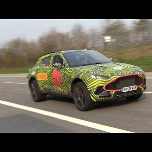 Деби видео од првиот SUV на Aston Martin