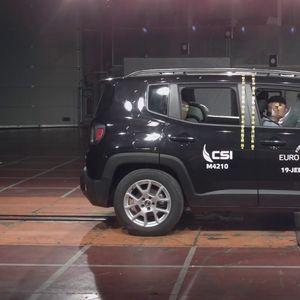 Jeep Renegade разочара на краш тестот – освои само три ѕвезди