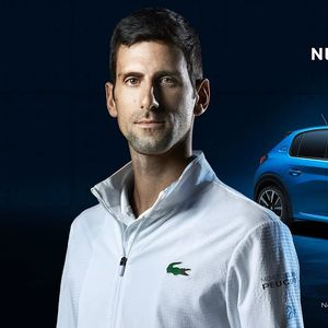 Новак Ѓоковиќ во главната улога во рекламата за Peugeot e-208