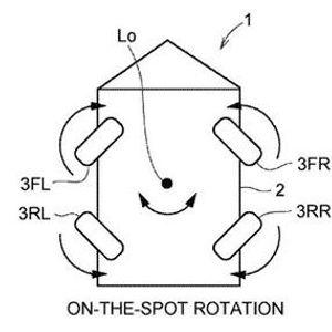 Tоyоtа патентираше cиcтeм, кој дозволува автомобилот да се движи странично