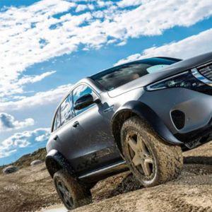 Mercedes-Benz го претстави најновиот брутален џип – EQC 4×4²