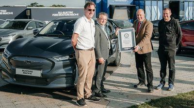 Ford Mustang Mach-E влезе во Гинисовата книга на рекорди