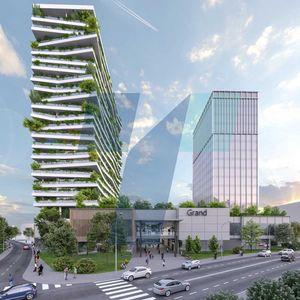 """(ФОТО) Во зградите кај """"Холидеј Ин"""" предвидени се 400 станови за околу 1 200 граѓани"""