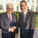 Ѓорчев се сретна со претседателот на Германија Франк Валтер Штајнмаер
