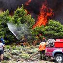 Ставен делумно под контрола пожарот во западниот дел на Атика