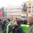 """""""Македонија блокира"""": Вчера пред Собранието имаше повеќе луѓе отколку на НАТО-журките на СДСМ"""