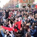 Исполнето едно од барањата на албанските студенти, но протестите продолжуваат