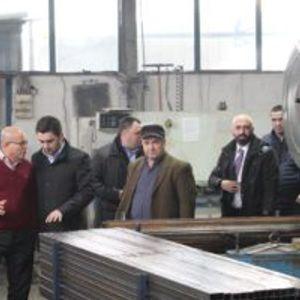 Министерот Бектеши ги посети компаниите во Полошкиот регион