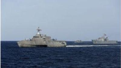 Остра реакција на Пекинг поради американските воени бродови во Јужно Кинеско Море