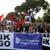Протестот на албанската опозиција мина мирно и со порака дека политичкото решение е заминување на Рама