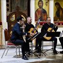 """Звуци од четири гитари синоќа ја исполнија црквата """"Света Софија"""""""