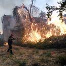 Се испитува дали пожарот на Евија е подметнат