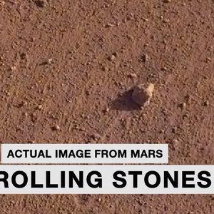 Камен на Марс наречен по Ролинг Стоунс
