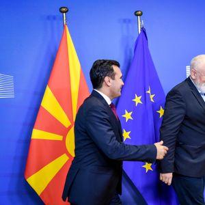 Средба Заев-Тимерманс: Остварувањата на земјава да се испочитуваат со одлука за старт на преговорите