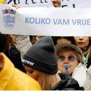 Хрватска: Штрајкот во училиштата продолжува