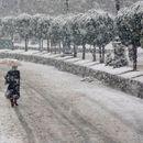 ВИДЕО: Падна првиот снег во Далмација