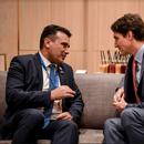Заев – Трудо: Како сојузници во НАТО ќе се заложиме за посилни пријателски односи и за зајакнување на економските врски