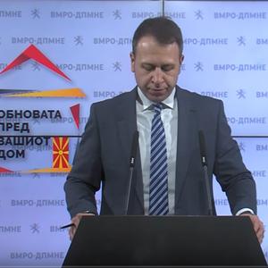 Јанушев: Тргнуваме на терен, ВМРО ДПМНЕ пред вашиот дом, Мицкоски со граѓаните