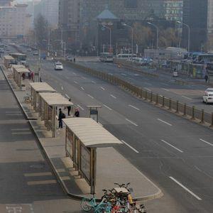 Град на духови: Дали има некој на улиците на Пекинг?