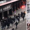 ВИДЕО: Жесток судир меѓу навивачи на Валенсија и Барса