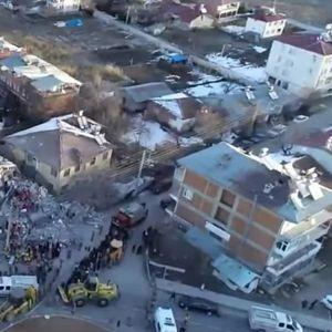 Снимките од дрон најдобро покажуваат што остана од турскиот град по разорниот земјотрес
